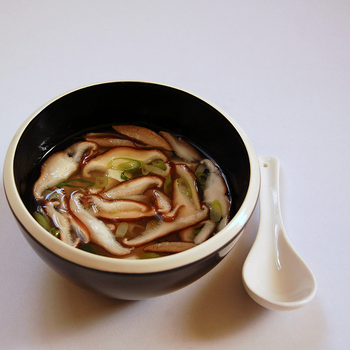 Hearty Shiitake Mushroom and Miso Soup